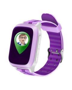 Ceas telefon cu GPS pentru copii Logic, Lacalizare, Monitorizare, Pedometru, Buton SOS, Roz