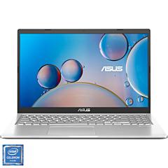 Laptop ASUS X515MA cu procesor Intel Celeron N4020 pana la 2.80 GHz, ecran 15.6 HD, 4GB DDR4, 256GB SSD, Free DOS, Silver