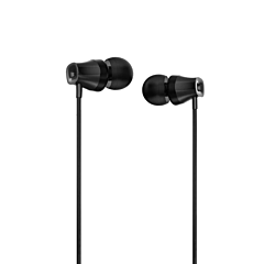 Casti in-ear cu fir Tellur Basic Lyric, microfon, Negru