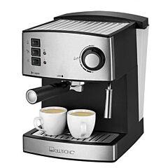 Espressor manual de cafea ES3643 Clatronic, 15 bari, 1.6 L, Negru/Inox