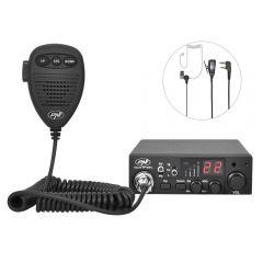 Kit Statie radio Escort HP 8001L ASQ PNI + Antena Extra 48 cu magnet PNI