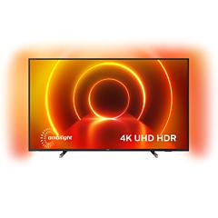 Televizor LED Smart Philips 65PUS7805/12, 164 cm, 4K Ultra HD