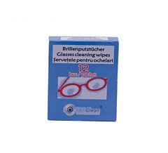 Servetele pentru ochelari Dr. Clean, 12 bucati