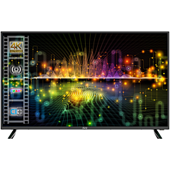 Televizor LED Smart Nei 40NE6700, 100 cm, 4K Ultra HD, Negru