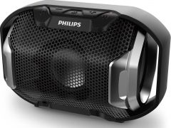 Boxa portabila wireless SB300B/00 Philips, Bluetooth, Waterproof, 4W, Negru