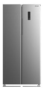 Side by side Vortex VO1016, 429 litri, No Frost, H 180 cm, Clasa A+, Inox