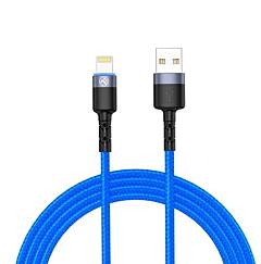 Cablu lightning Tellur TLL155364, 1.2m, LED, Albastru