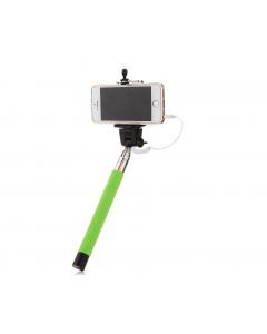 Selfie Stick Popik, cu fir, Verde