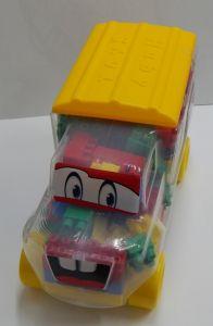 Set camion + cuburi constructie, Huby Toys