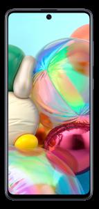 "Telefon mobil Samsung Galaxy A71, Dual SIM, 6.7"", 128GB, 6GB RAM, 4G, Qualcomm Snapdragon 730, Prism Silver"