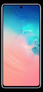 """Telefon mobil Samsung Galaxy S10 Lite, Dual SIM, 6.7"""", 128GB, 8GB RAM, 4G, Qualcomm Snapdragon 855, Prism White"""