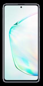 """Telefon mobil Samsung Galaxy Note 10 Lite, Dual SIM, 6.7"""", 128GB, 6GB RAM, 4G, Exynos 9810, Aura Silver"""
