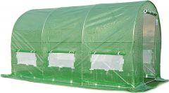 Solar gradina schelet metalic 3x2 m, verde
