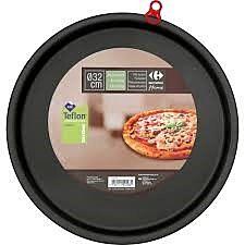 Tava antiaderenta pentru pizza 33 cm, Carrefour