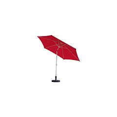 """Umbrela aluminiu/otel """"Lagoa"""", 300 cm, rosu"""