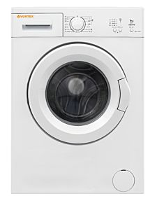 Masina de spalat rufe Vortex VMA610D01V, 6 Kg, 1000 rotatii, Clasa A++, Alb