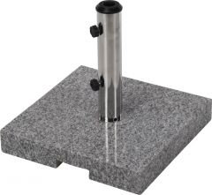 Suport umbrela granit 20 kg, 40x40x5 cm
