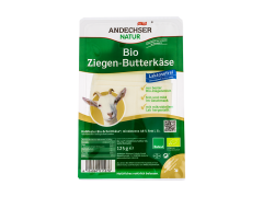 Branza Bio de capra felii Andechser 125g