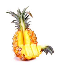 Baby ananas per bucata