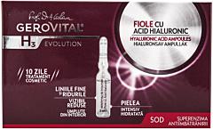 Fiole cu acid hialuronic Gerovital H3 Evolution 10 fiole