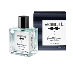 Apa de parfum Monsieur D - Gentleman in blue 100ml