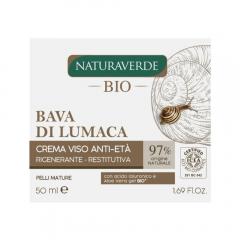 Crema de fata anti-rid extract de melc si aloe 50ml Naturaverde Bio