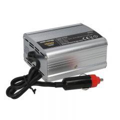 Invertor auto WHITENERGY 12/230 V, 150 W + USB