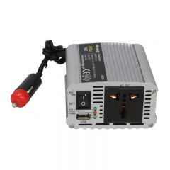 Invertor auto WHITENERGY 12/230 V, 200 W + USB