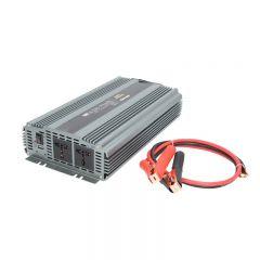 Invertor auto WHITENERGY DC 24V-AC 230V 2000W + USB