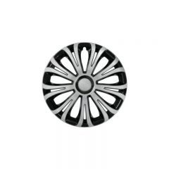 Set capace roti Lampa Avera, 15 inch, Argintiu/Negru