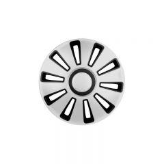 Set capace roti Lampa Silverstone, 16 inch, Argintiu/Negru