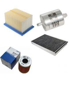 Pachet filtre revizie RENAULT MEGANE I 1.8 16V (BA06, BA12, BA1A, BA1M, BA1R) 115 cai, filtre Mahle Original