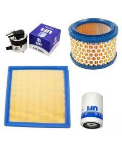 Pachet filtre revizie SEAT LEON 1.9 TDI 130 cai, filtre Ufi