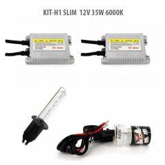 Kit xenon H1 SLIM 12V 35W 6000K