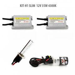 Kit xenon H1 SLIM 12V 35W 4300K
