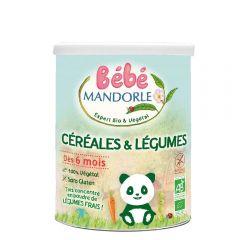 Cereale + legume pentru bebeluși - de la 6 luni, fara gluten, fara lactoza, 400g