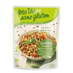 Cereale si leguminoase - fara gluten bio gata preparat 220g