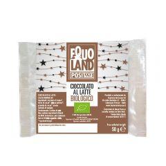 Ciocolata cu lapte Bio - Om de zapada 50g