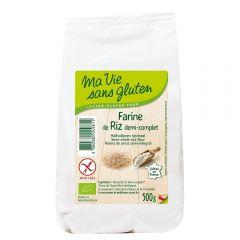 Faina de orez semiintegral bio - fara gluten 500g