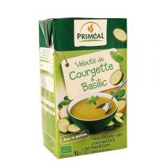 Supa crema de dovlecei cu busuioc Bio 1L