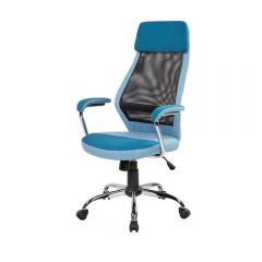 Scaun directorial mesh SL Q336, albastru