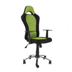 Scaun directorial SL Q039 negru-verde