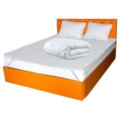 Set Saltea TERRA Standard Comfort 160x200x26 plus 2 perne 50x70 plus Husa hipoalergenica plus Pilota iarna microfibra  180x200