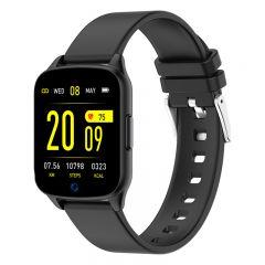 Ceas Smartwatch iHunt Watch ME 2020, Notificari, Pedometru, Puls, Monitorizare somn, iOS/Android, Black
