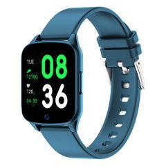 Ceas Smartwatch iHunt Watch ME 2020, Notificari, Pedometru, Puls, Monitorizare somn, iOS/Android, Blue
