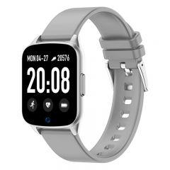 Ceas Smartwatch iHunt Watch ME 2020, Notificari, Pedometru, Puls, Monitorizare somn, iOS/Android, Gray