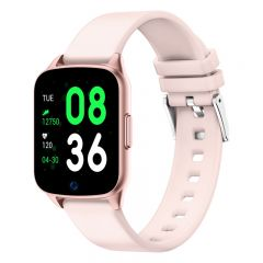 Ceas Smartwatch iHunt Watch ME 2020, Notificari, Pedometru, Puls, Monitorizare somn, iOS/Android, Pink