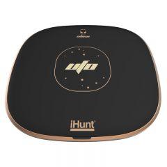 Incarcator wireless iHunt Alien UFO, Fast-Charge, Negru