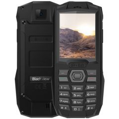 Telefon mobil Blackview BV1000, DualSIM, 2G, Display 2.4-inch, Radio FM, 3000mAh, IP68, Black