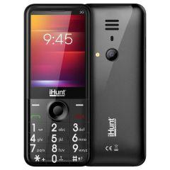 Telefon mobil iHunt i3 3G, 2.8-inch Display, DualSIM, 3G, Radio FM, Bluetooth, Lanterna, Baterie 1450mAh, Camera, Black